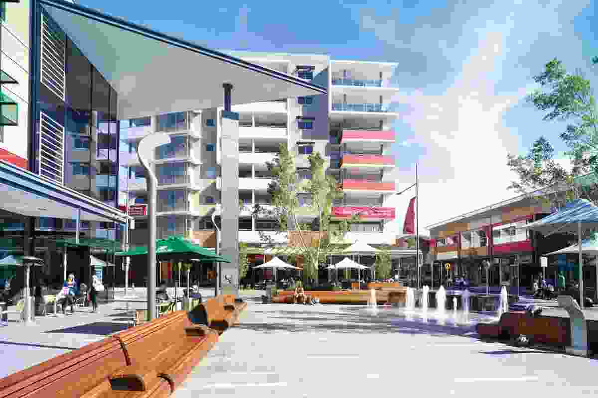 Rouse Hill's Town square.