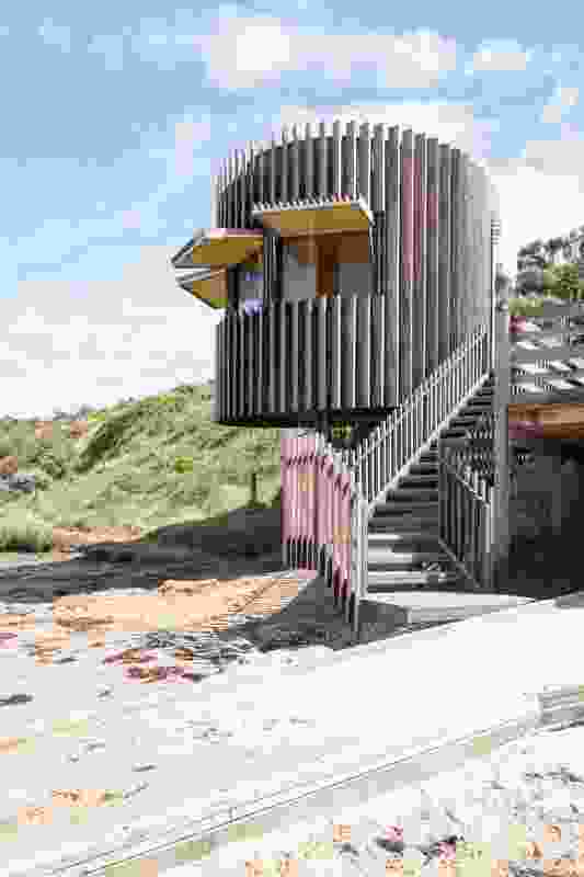 Smiths Beach Surf Life Saving Tower by MRTN Architects.