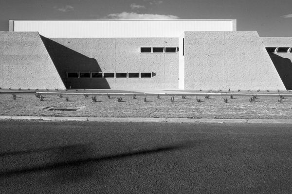 The former Torin factory building by Marcel Breuer, 1976.