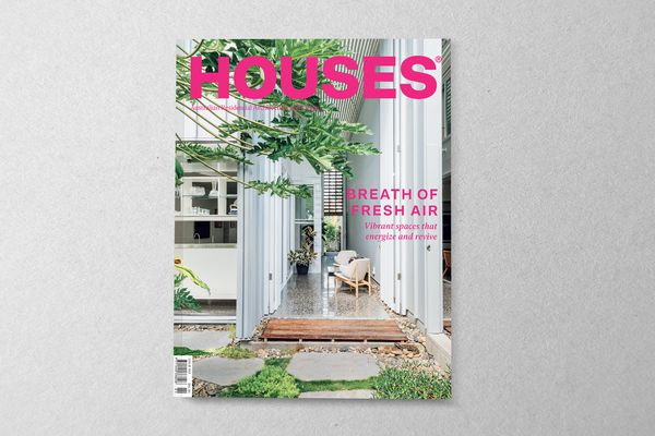 Houses 132. Cover project: Mermaid Multihouse by Partners Hill with Hogg and Lamb.