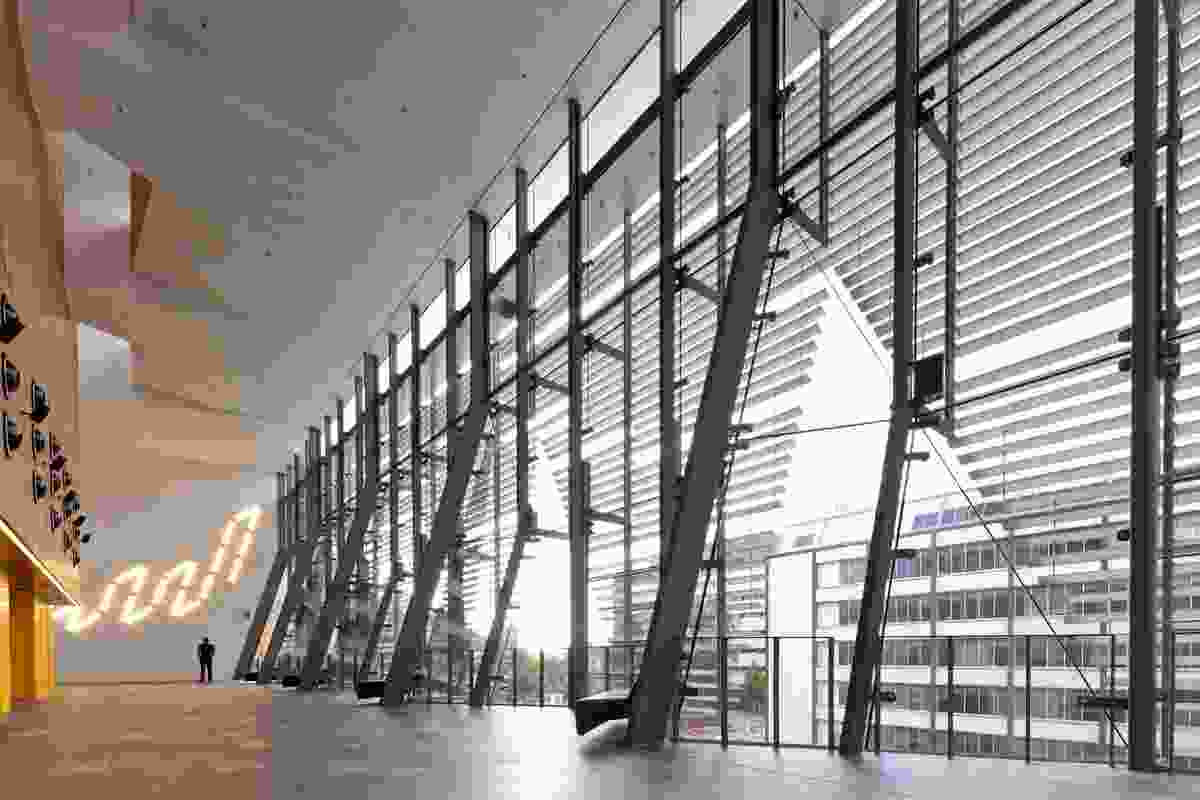 UTS Great Hall and Balcony Room – DRAW: de Manincor Russell Architecture Workshop [Collaborating Architects: Kann Finch]