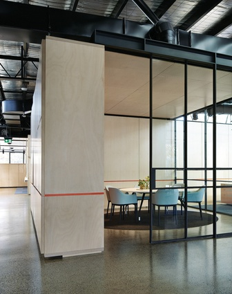 Colour block kennards self storage architectureau for Office design trends articles