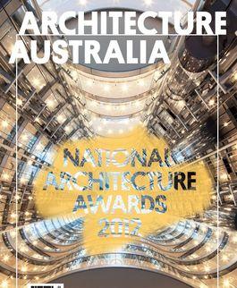Architecture Australia, November 2012