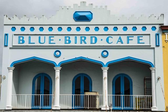 An Art Deco facade in Innisfail, Far North Queensland