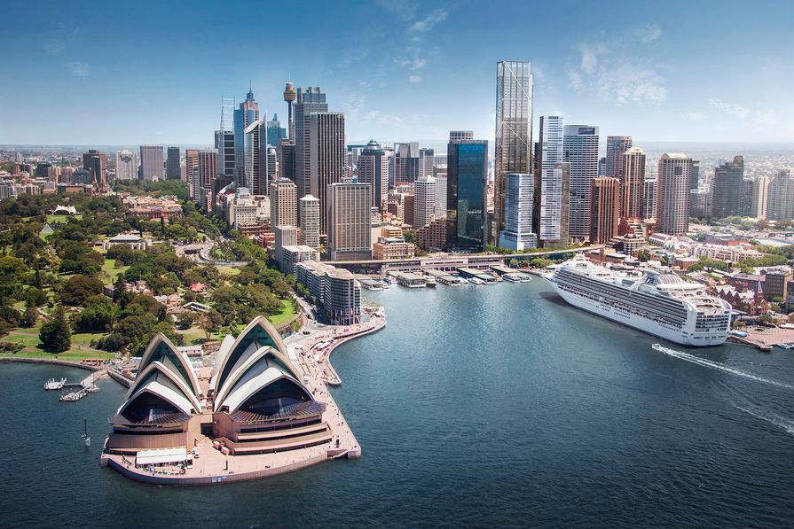 Circular Quay Tower by Foster and Partners.