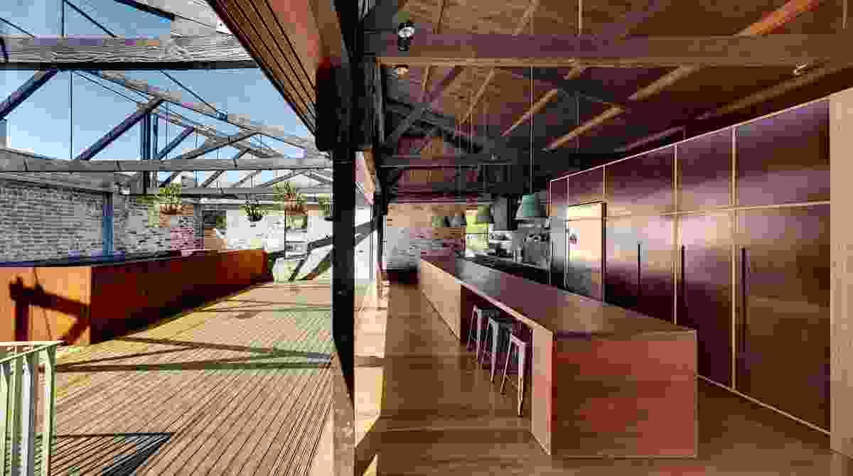 Lilyfield Warehouse by Virginia Kerridge Architect.