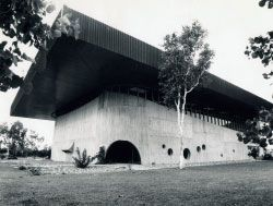 Library, James Cook University, Townsville, 1966. Image: James Birrell.