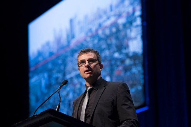 Roberto Bannura at the 2018 National Architecture Conference.