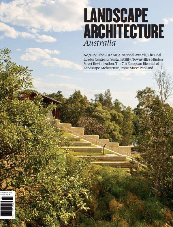 Landscape Architecture Australia, November 2012