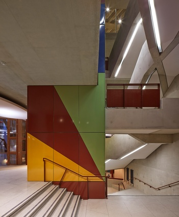 Saw Swee Hock Student Centre, London School of Economics by O'Donnell and Tuomey.
