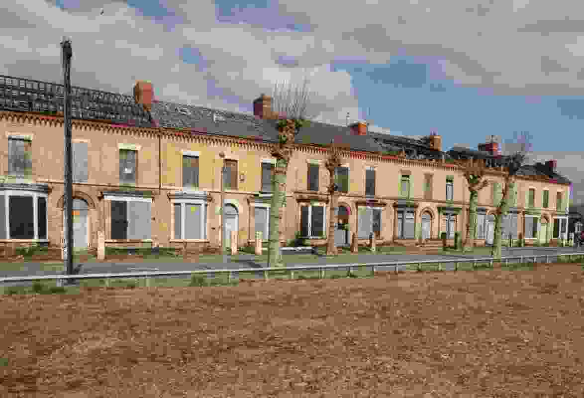 Granby Four Streets is a rundown housing estate in Liverpool.