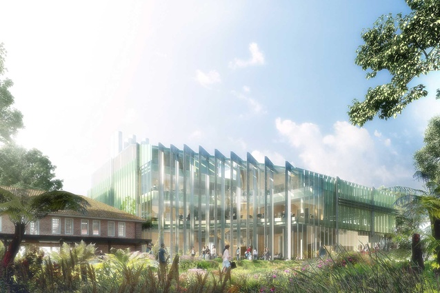 Western Edge Biosciences building by Hassell.