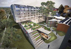 John Wardle Architects' winning proposal – Weave.