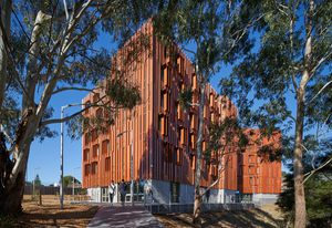 Gillies Hall at Monash University's Peninsula campus by Jackson Clements Burrows Architects demonstrates that Passive House is a viable option for large residential projects in Australia.