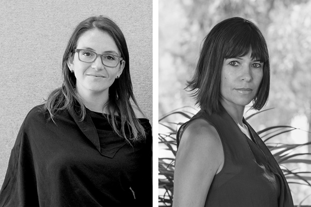 Architect of the Year Gabriela Carrillo and Moira Gemmill Prize for Emerging Architecture recipient Rozana Montiel.