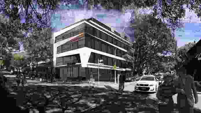 Proposed redevelopment of Gaden House by Dstudio.