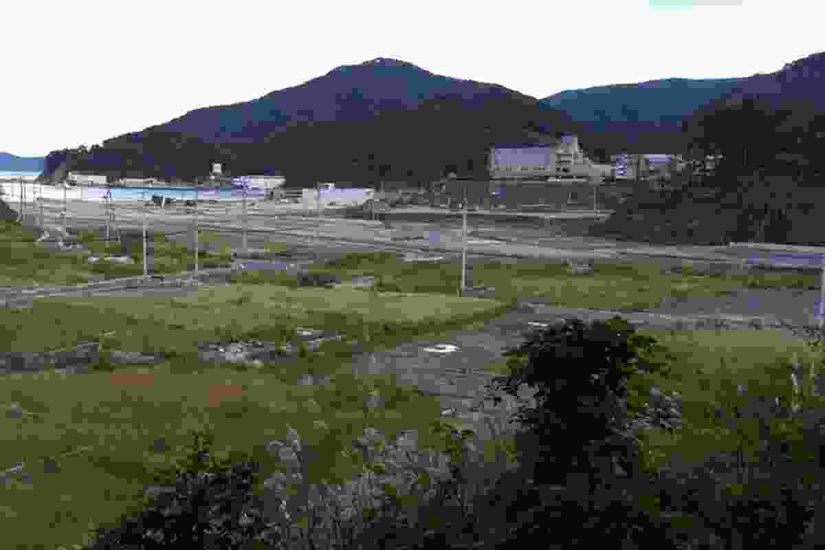 The valley where Onagawa once stood.