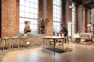 Fringe Furniture 2010 installation by Edwards Moore.