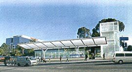 Hassell's concept designs for underground stations for the Parramatta Rail Link