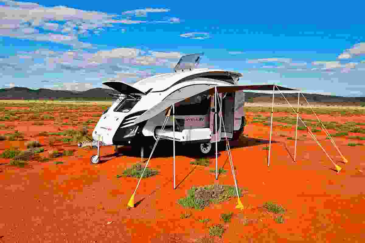 Bolwell EDGE caravan, 2010, by Vaughan Bolwell, part of Melbourne Design Now curated by Simone LeAmon.