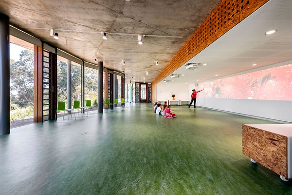 The flexible atelier space allows for multiple configurations.