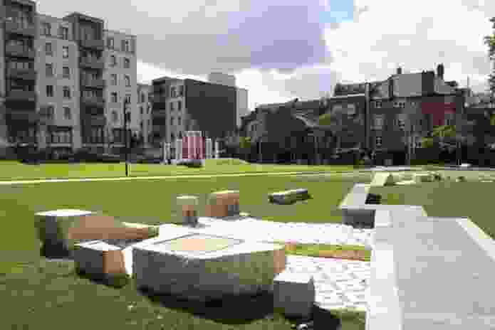 Altab Ali Park, Whitechapel, by Muf Architecture/Art (2011)
