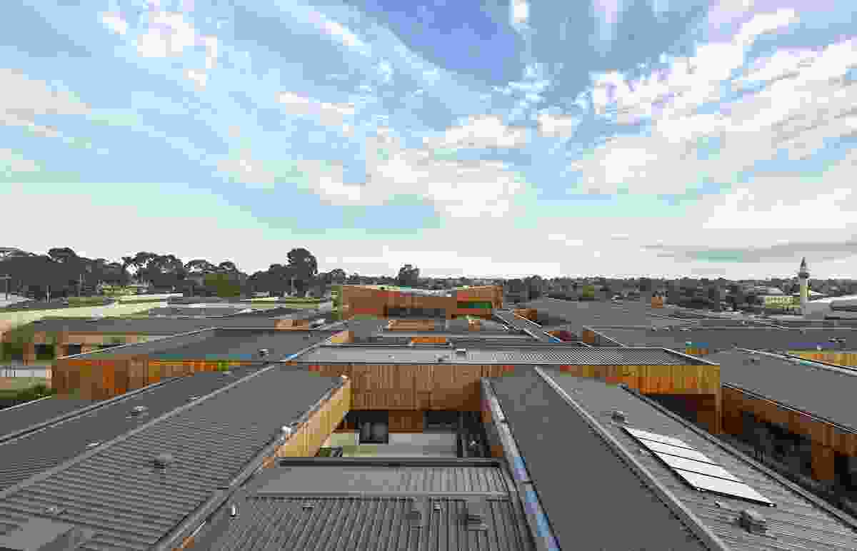 Dandenong Mental Health Facility by Bates Smart Whitefield McQueen Irwin Alsop Joint Venture.