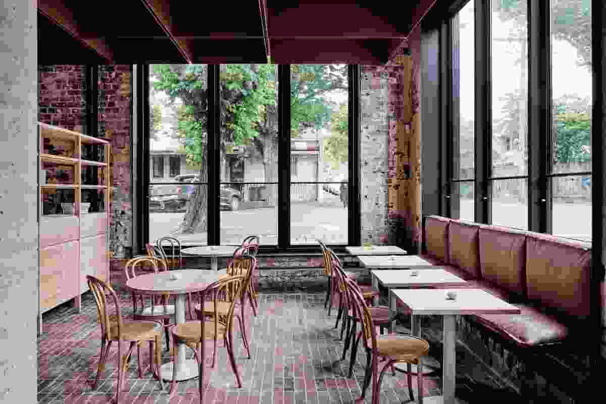 Best Cafe Design: Bentwood Cafe by Ritz and Ghougassian.