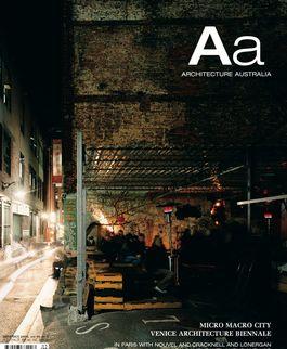 Architecture Australia, September 2006