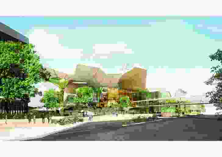 Cairns Cultural Centre by Cox Rayner Architects.
