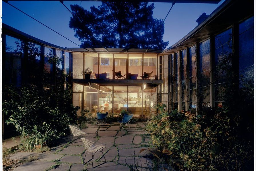 Famous Mid Century Modern Houses Q Housepl
