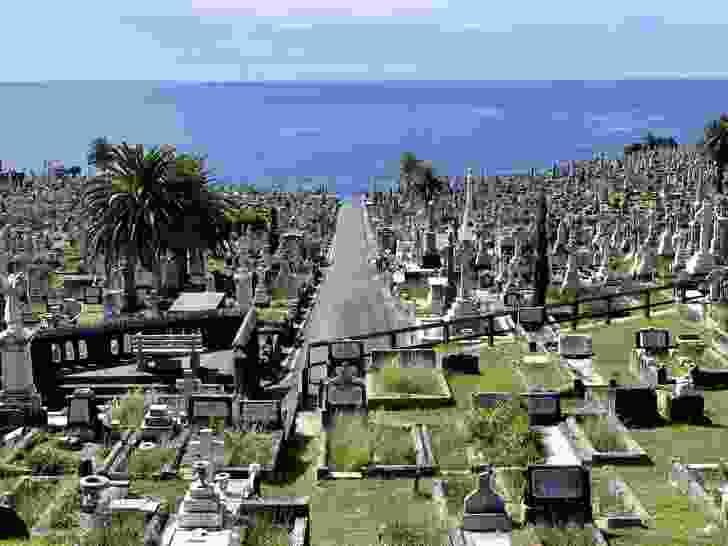Waverley Cemetery in Sydney's eastern suburbs