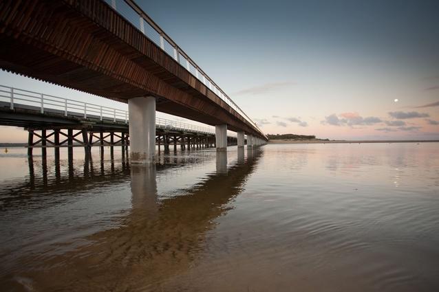 William Buckley Bridge by Peter Elliot Architecture + Urban Design.