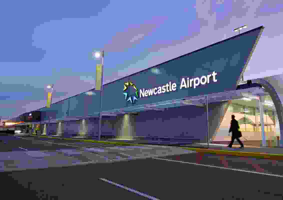 Newcastle Airport by SHAC.