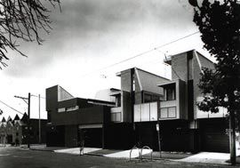 The Napier Street facades.Image: Patrick Bingham-Hall