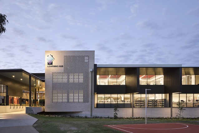 St Andrew's Anglican College Learning Hub by Wilson Architects.