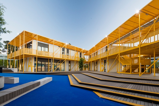 Monash Learning Village by Jackson Clements Burrows Architects.
