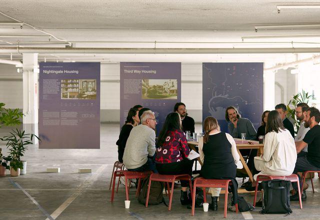 墨尔本设计周2021的房源展览。