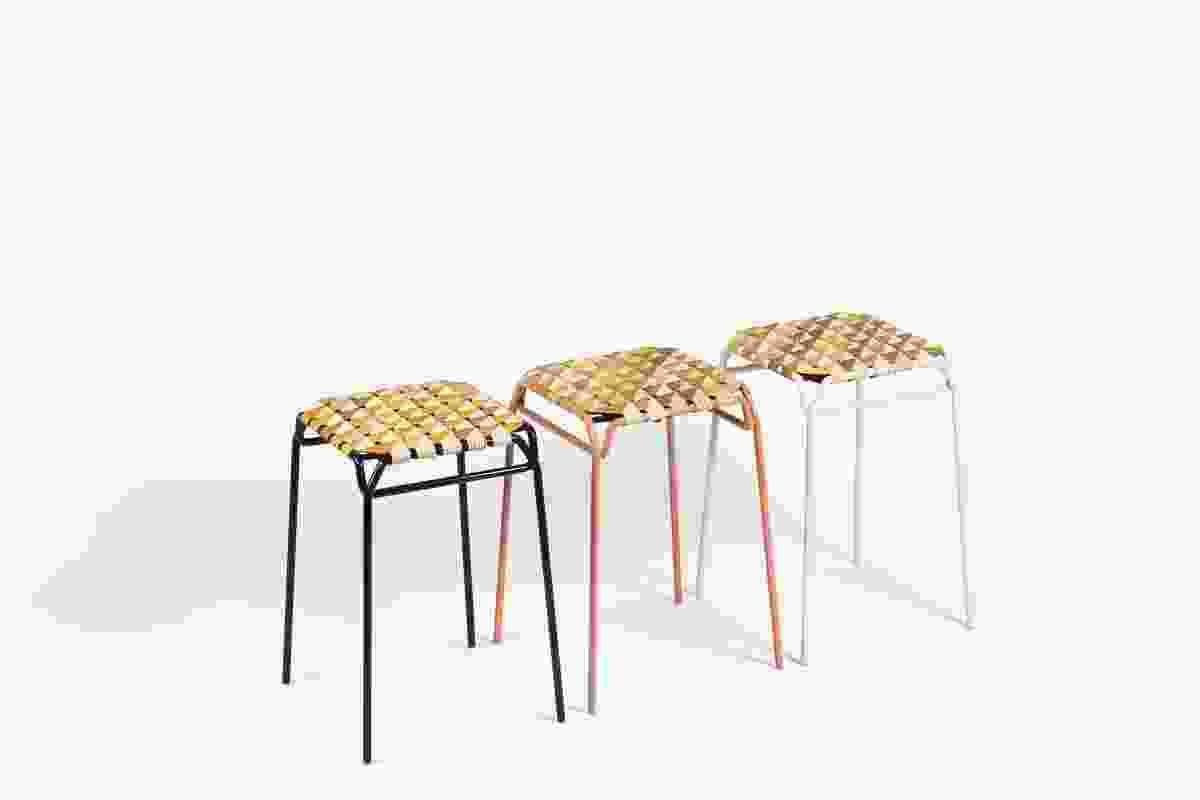 Taburet birch bark stool by Moya.
