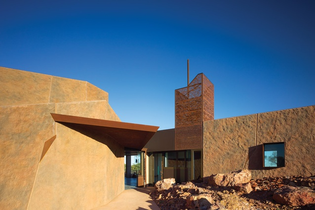 Australian Age of Dinosaurs Visitor Centre by Cox Rayner Architects.