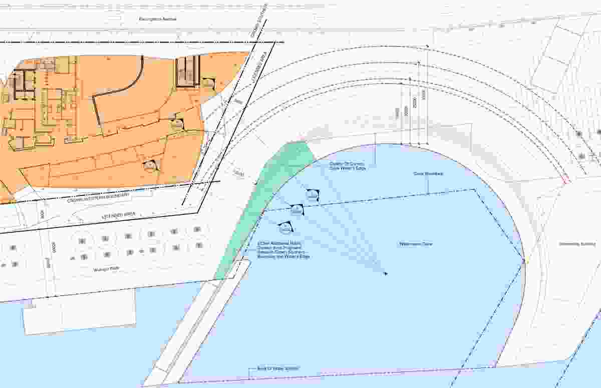 Revised plan of Watermans Cove.