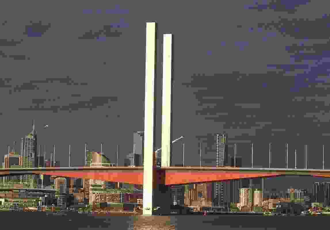 Bolte Bridge by Denton Corker Marshall.