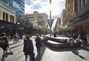 Rundle Mall by Hassell.