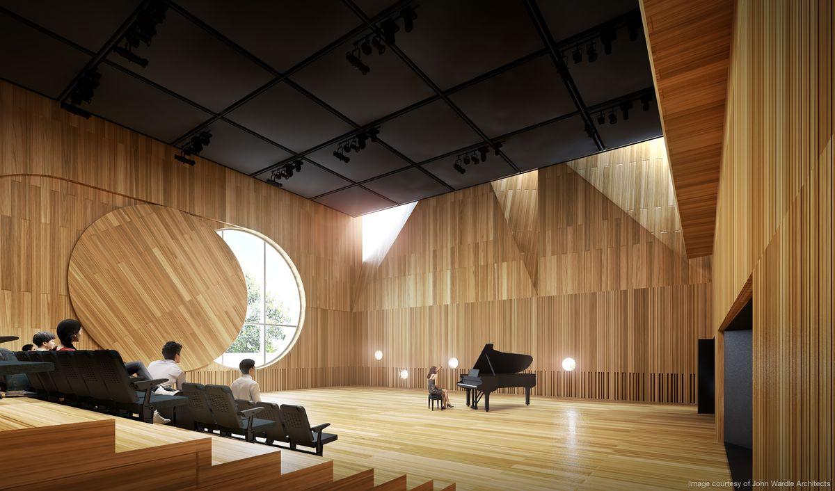 John Wardle Architects wins Melbourne Conservatorium of ...