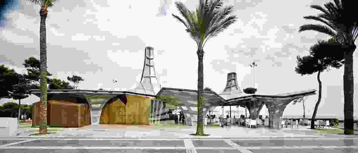 Vianros Sea Pavilion by Guallart Architects.