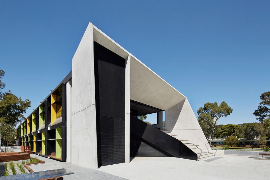 Monash University North West Precinct by Jackson Clements Burrows Architects in collaboration with MGS Architects (Masterplan).