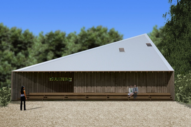 The winning proposal by Andrew Burns Architect.