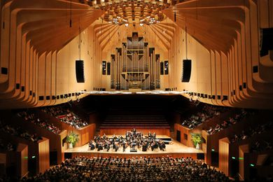 The existing Sydney Opera House Concert Hall, to be redesigned by ARM Architecture.