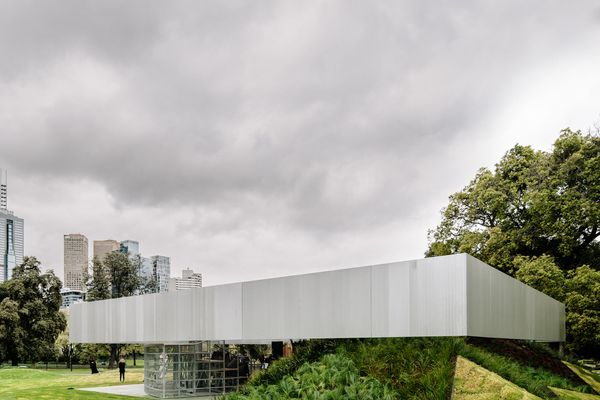 The 2017 MPavilion designed by Rem Koolhaas and David Gianotten.