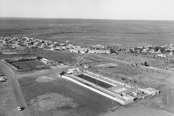 Woomera Village, South Australia in the 1950s.